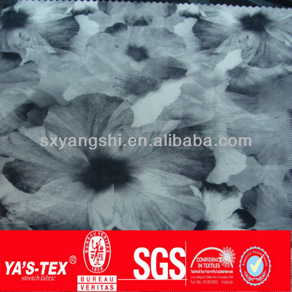 new Waterproof uv-cut Polyester Microfiber Fabric printed manufacturers in china