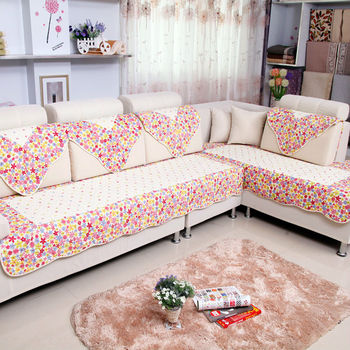 Country Style Sectional Sofa Cover Ylj 04 Delicate Small