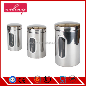 Stainless Steel Coffee Storage Container, Patented Airtight Coffee  Canister,The Ultimate Coffee Beans Storage