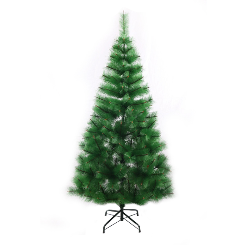 High Quality Christmas Pine Needle Trees 180cm PET Decorative Pine Christmas Tree for Indoor Decoration