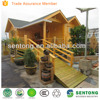 China Prefabricated Wooden House Log/Wood Material