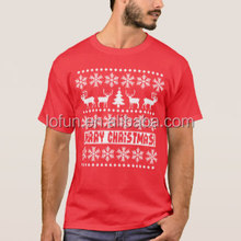Santa Christmas t-shirts wholesale t shirt printing factory export