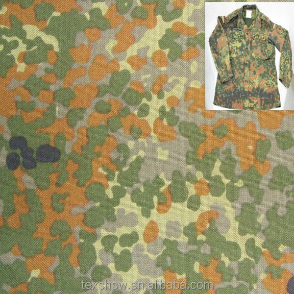 Dupont cordura military uniforms camouflage fabric