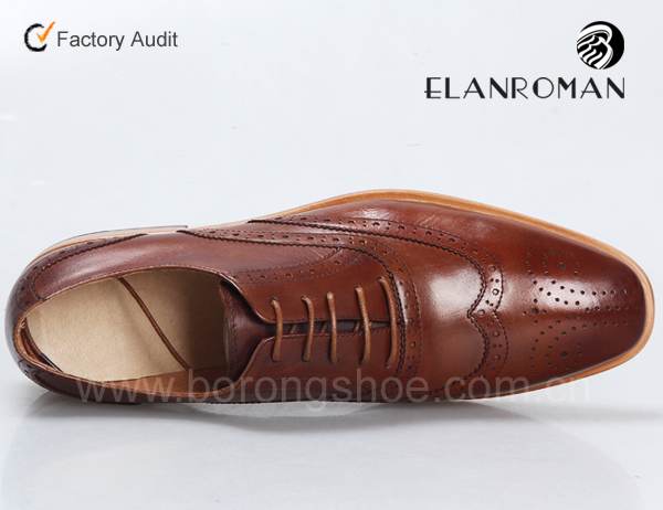 soft leather Top brogues formal shoes man sole quality with shoe 8qZT08