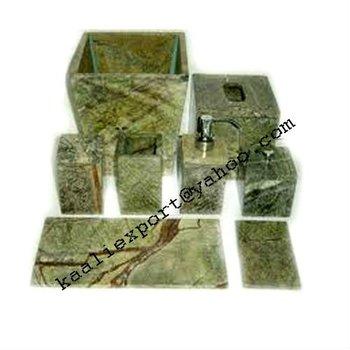 Marble Bathroom Accessories, Soapstone Bath Set, Sandstone Bath Kit, Bathroom  Set, Bathroom