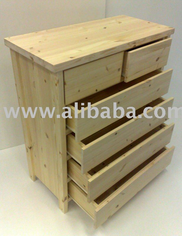 Chest of Drawers 2+4dr