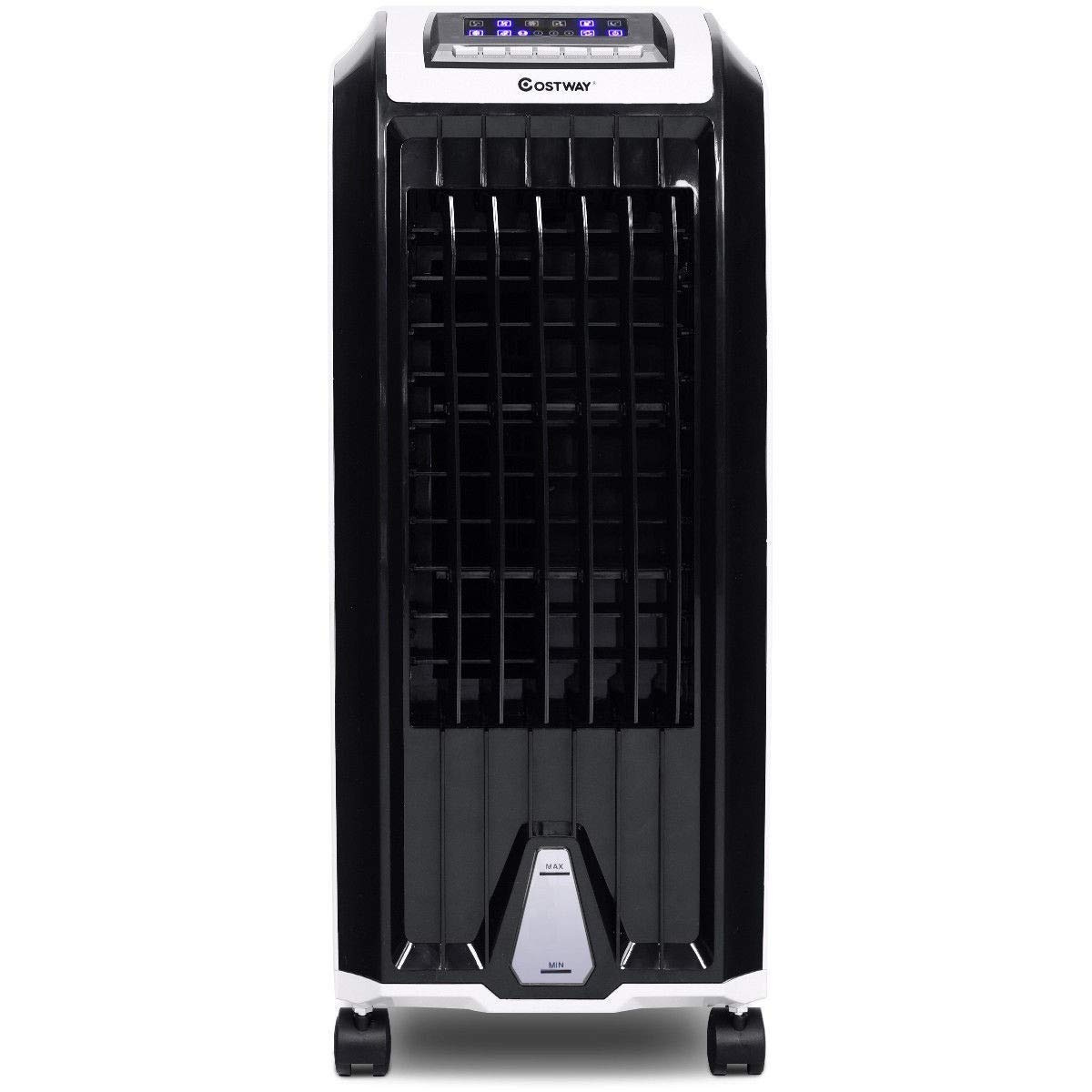 BeUniqueToday Evaporative Portable Air Conditioner Cooler, Air Cooler Portable Conditioner Evaporative Fan, Humidifier Home Personal Cooling Small Evaporator Air Conditioner Portable