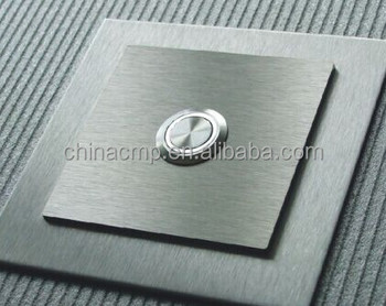 Cmp Metal 19mm Doorbell Switch Bell Door Push On Led Stainless Steel