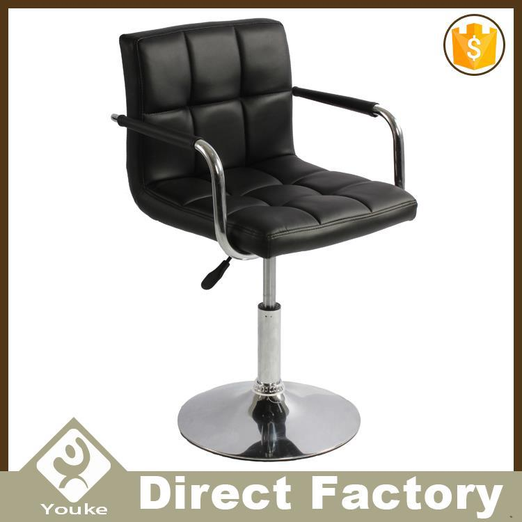 Contemporary soft night club bar stool for bar counter