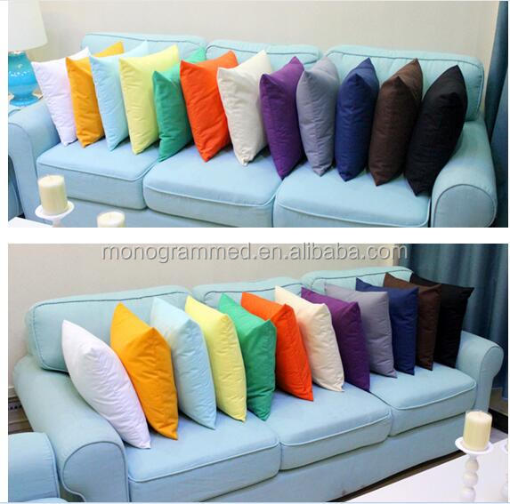 rts livraison gratuite pur coton canap housse de coussin taie d 39 oreiller en gros dans 18 18. Black Bedroom Furniture Sets. Home Design Ideas