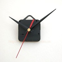 Quartz clock movement mechanism Complete with hands and fixings hardware