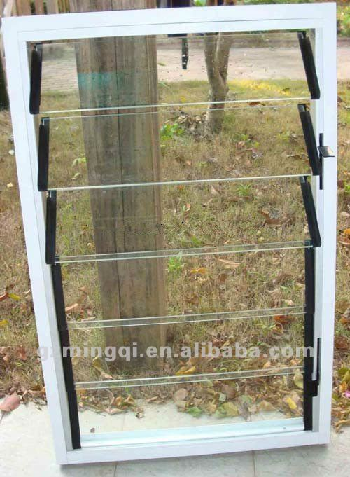Modern Manual Aluminum Glass Jalousie Window - Buy Aluminum ...