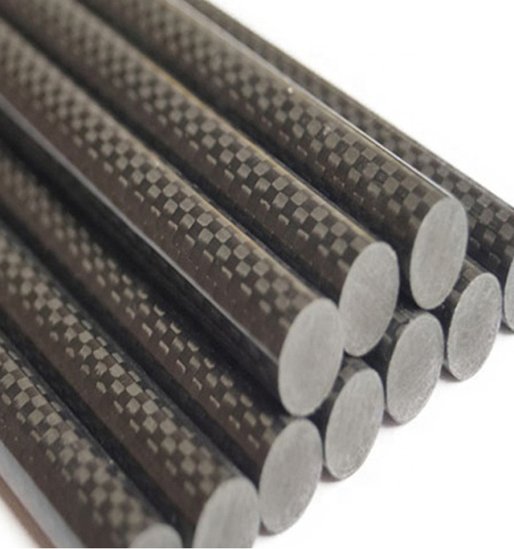 1mm-25mm Diameter 3K Carbon Fiber Rod