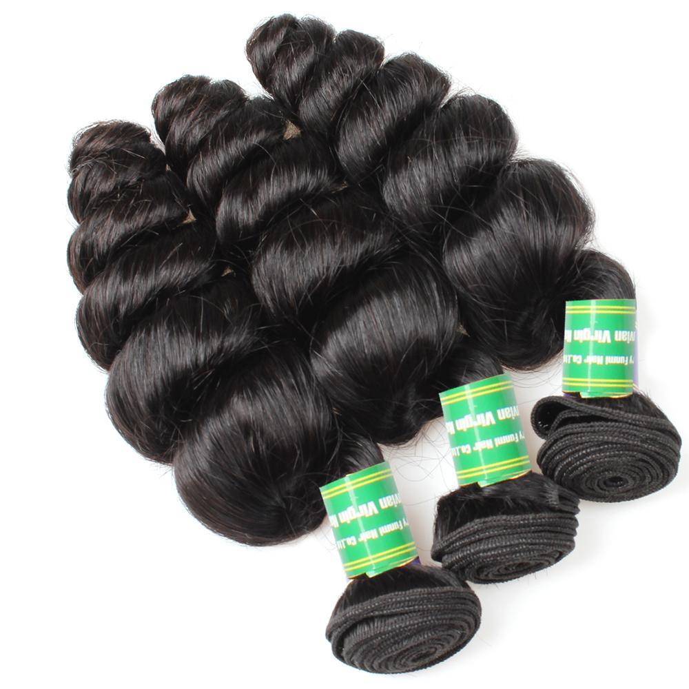 2017 Aliexpress China Best Selling Loose Wave Human Hair Weaving
