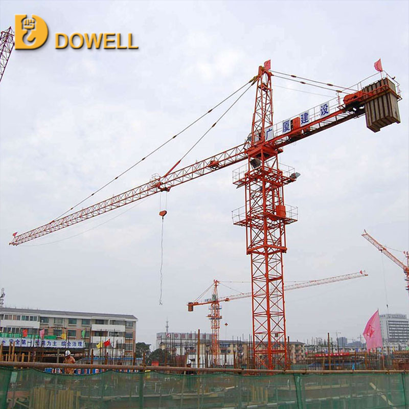 Self-ascending small standard 1-16t qtz 125 tower crane