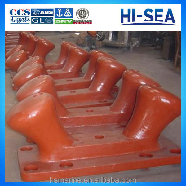 Marine Cast Steel/Iron Dock Bollard Double Bitt Bollard
