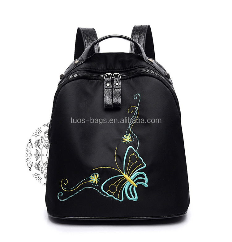 YTB-L-LTB026 Beautiful Butterfly Blank Backpack School Backpacks For Girl