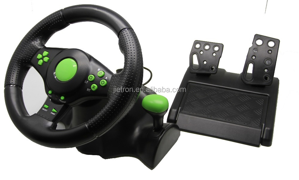 Hot sale model of 4 IN1 Steering Wheel For XBOX ONE/PS2/PS3/PC from China supplier