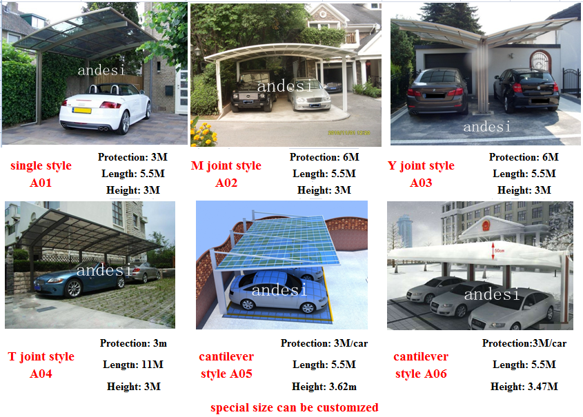 Car Types Of Shelters : Portable car garage canopy shelter buy outdoor