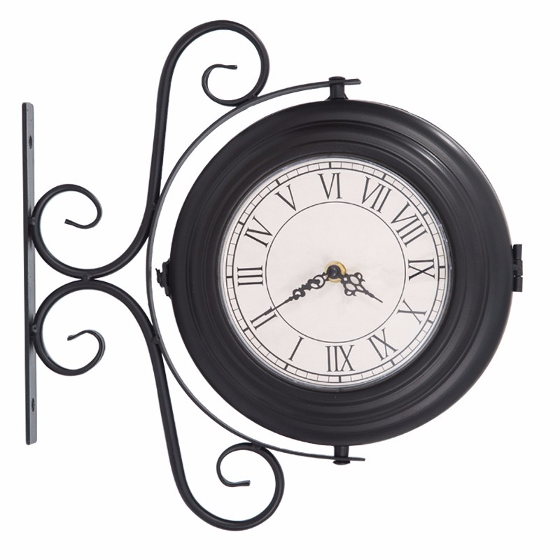 10 Clock Mechanism Double Sides Outdoor Street