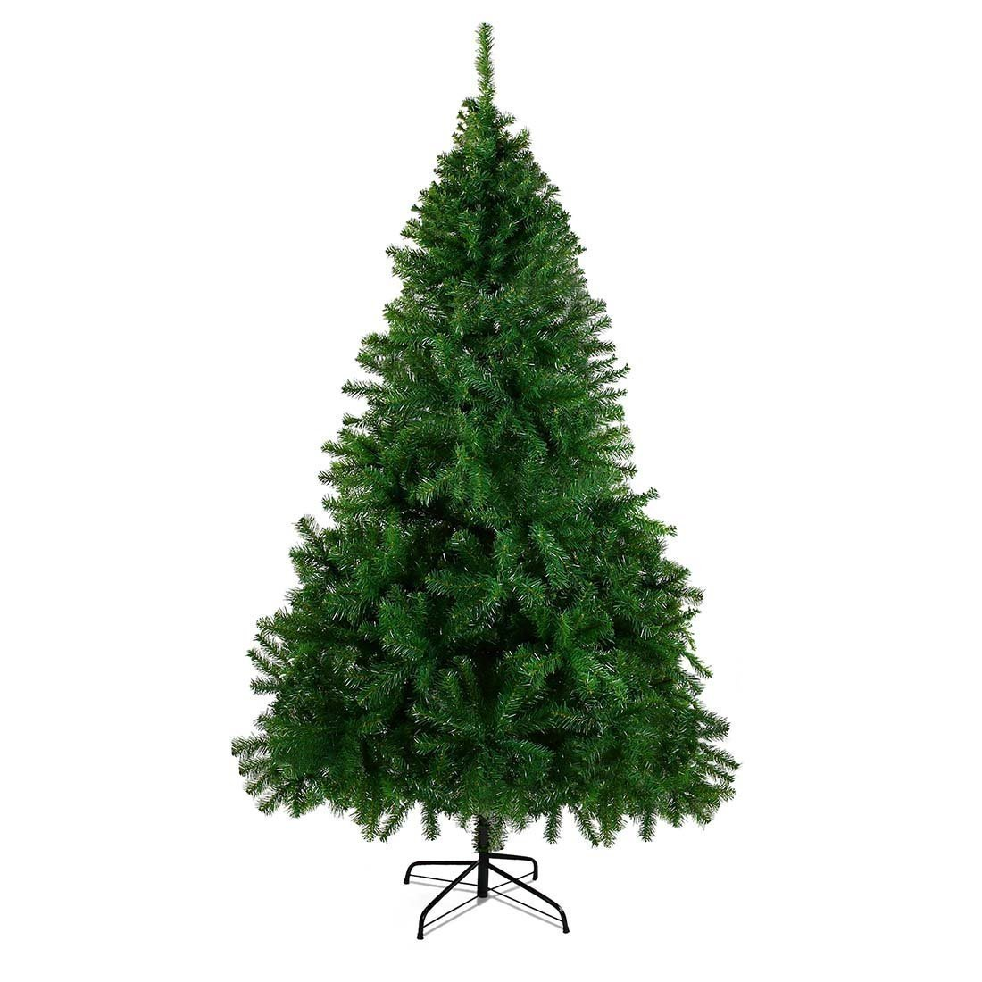 Christmas Tree, CHEERSON 7.5 ft Easy-Assembly Artificial Christmas Tree Ever Green with Stand