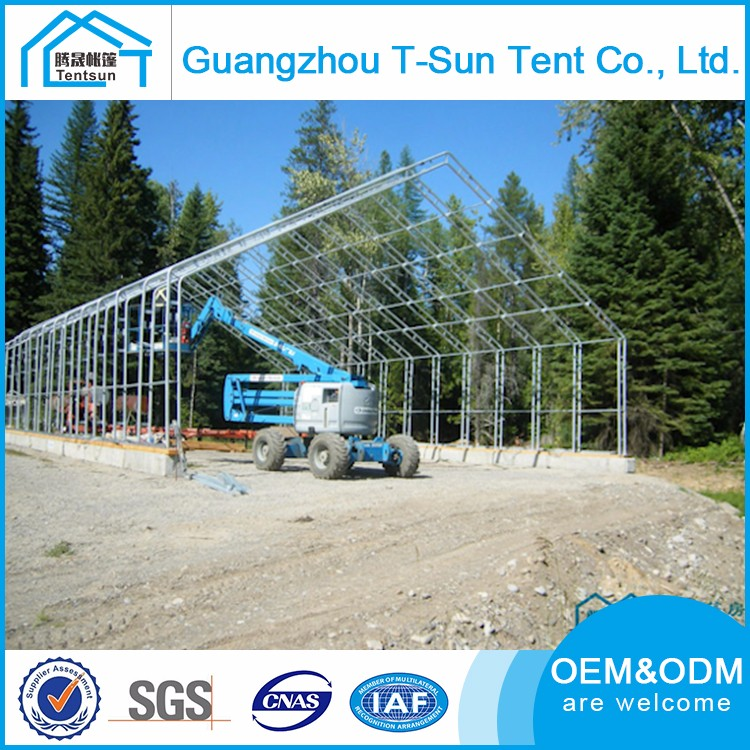 Customized Size Hot Dip Galvanization Large Span Tents Party Play Outdoor Steel Frame Tent