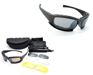 Anti-Scratch Goggles Work Glasses Military X7 Sun Glasses Prescription Shooting Glasses Eyeglasses