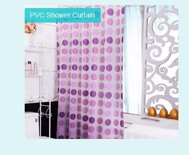New Pattern Digital Printed Bathroom Bloody Serial Killer Shower Curtain
