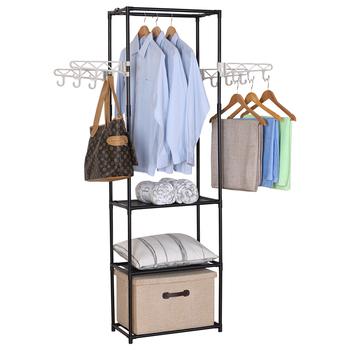 Multifunctional 40 Tier Clothes Drying Rack With Coat Rack Hangers Impressive Coat Rack With Hangers