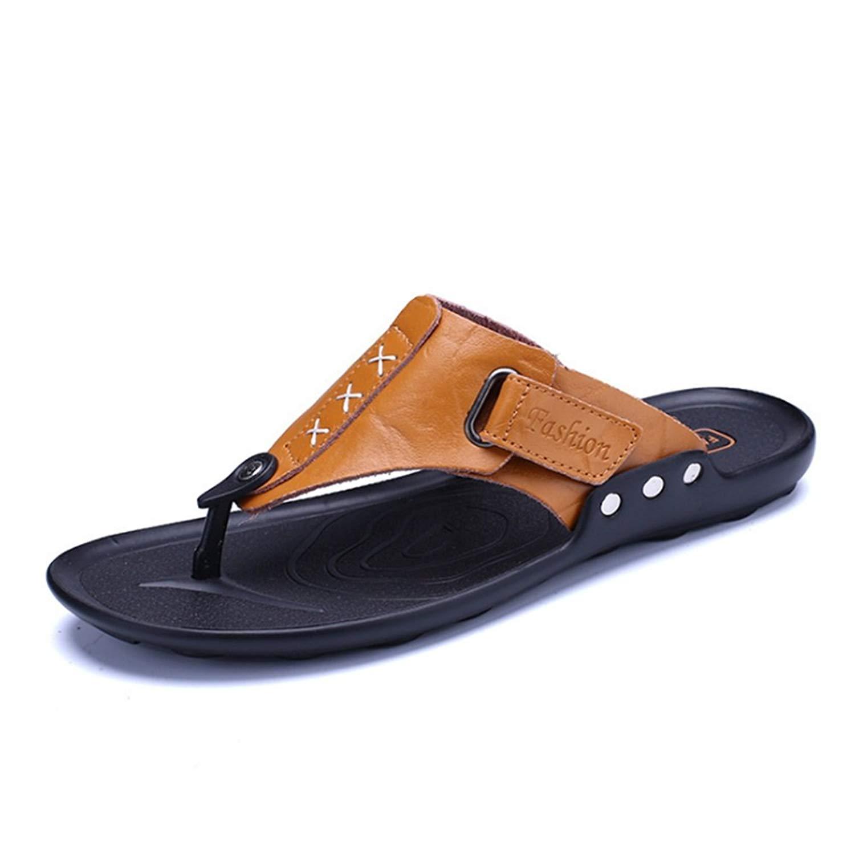 Wagsuyun Slippers Men's Outdoor Sports Sandals Anti-Slip Dual Beach Slippers