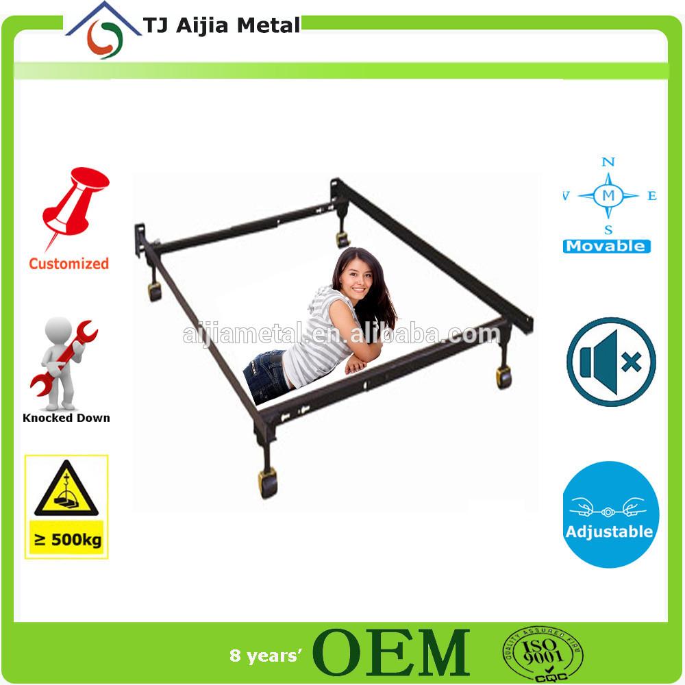 diseño italiano marco de la cama de hierro forjado marco de la cama ...