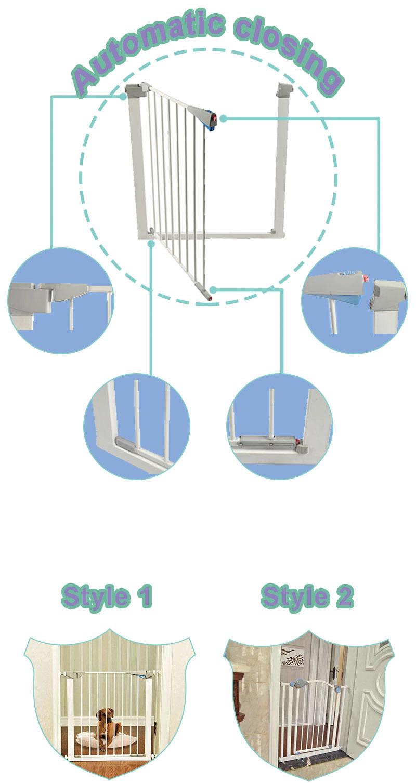 HONDE Yüksek kaliteli metal dostu bebek emniyet kapısı