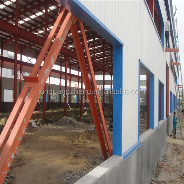 ISO & CE Certificated prefab steel logistics building shed