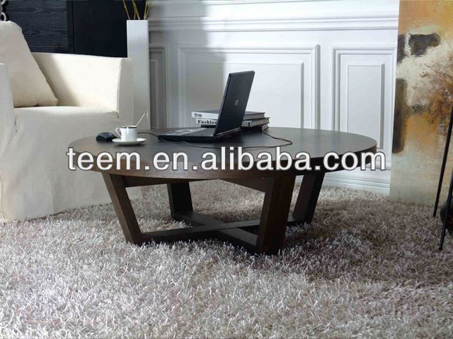 modern low round coffee table oak beam coffee table