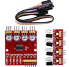 4 Channel IR Infrared Line Detector Tracking Sensor Module