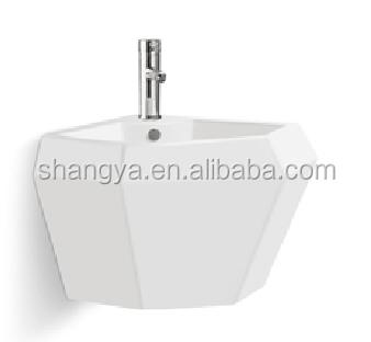 Amaze Y-006 Hot ! Sale Modern Bathroom Sink Wall Hung Basin Water ...