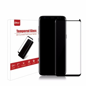 2018 new technology 3D curved tempered glass full cover screen protector guard for samsung S8 /S8 PLUS oem