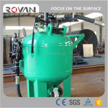 Newest Design Protable Crushed Glass Sand Blasting Machine, Abrasive Glass Beads Dustless Blasting For Rust Removal