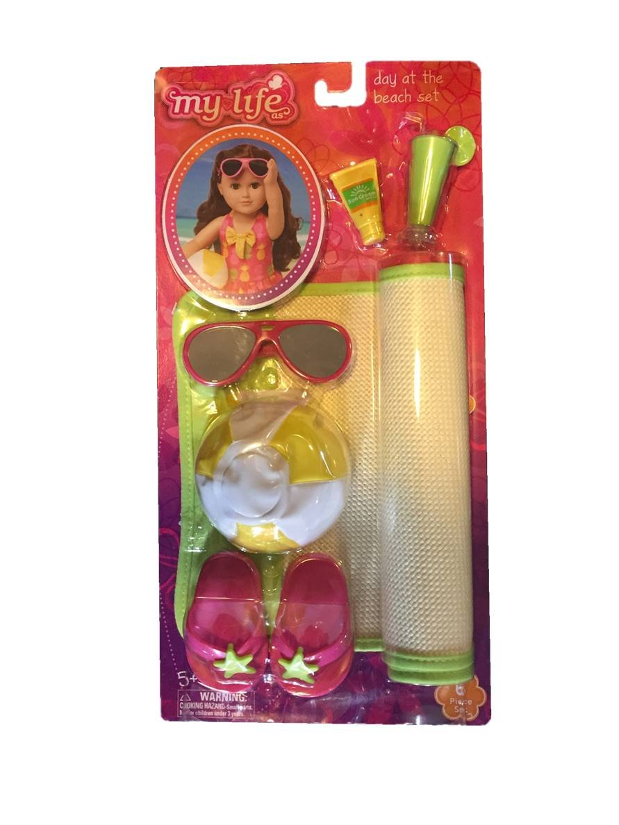 My Life Beach Accessories Set for Dolls