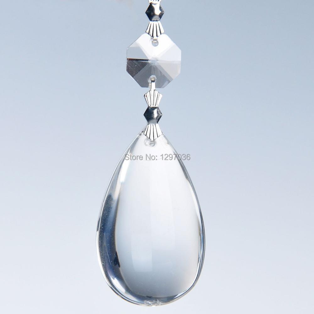 Crystal Chandelier Accessories: Wedding Party Decoration Accessories Drop Pendants