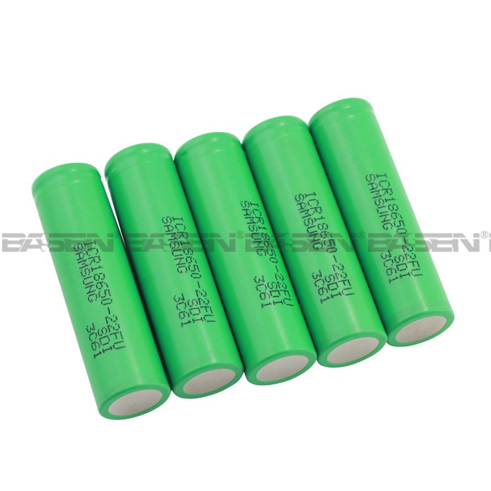 Newest of high capacity 18650 2200mah Samsung 22F battery Samsung icr18650 22f 2200mah li ion battery