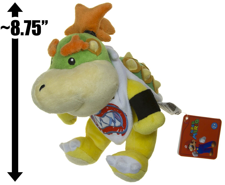 Buy Bowser Jr 8 75 Plush Super Mario Bros Plush Series
