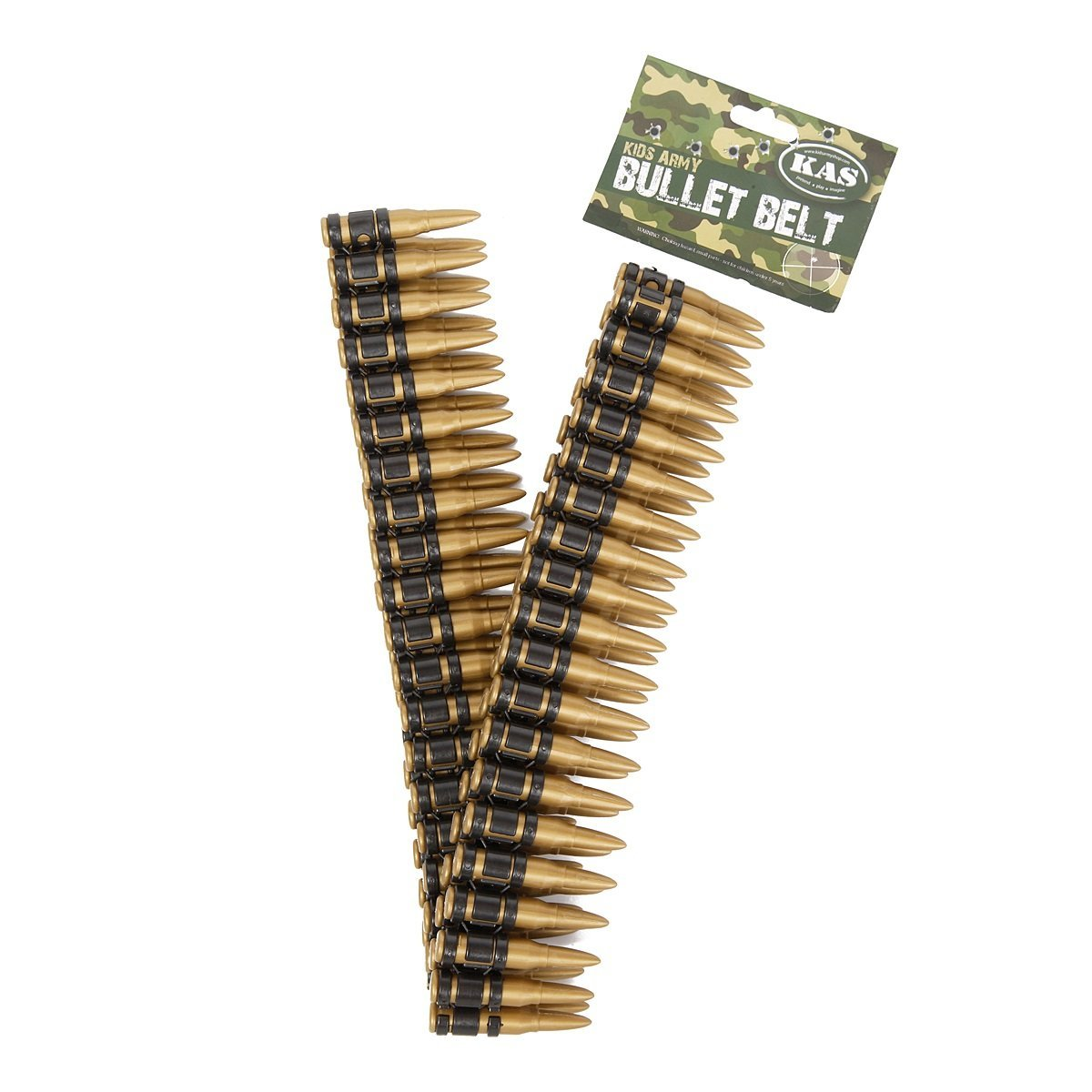 Kids Army Toy Bullet Belt 130cm Long - Toy Guns For Kids Camo Role Play