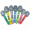 Customized Available Eco-friendly PVC Inflatable Musical Instruments and Inflatable microphone