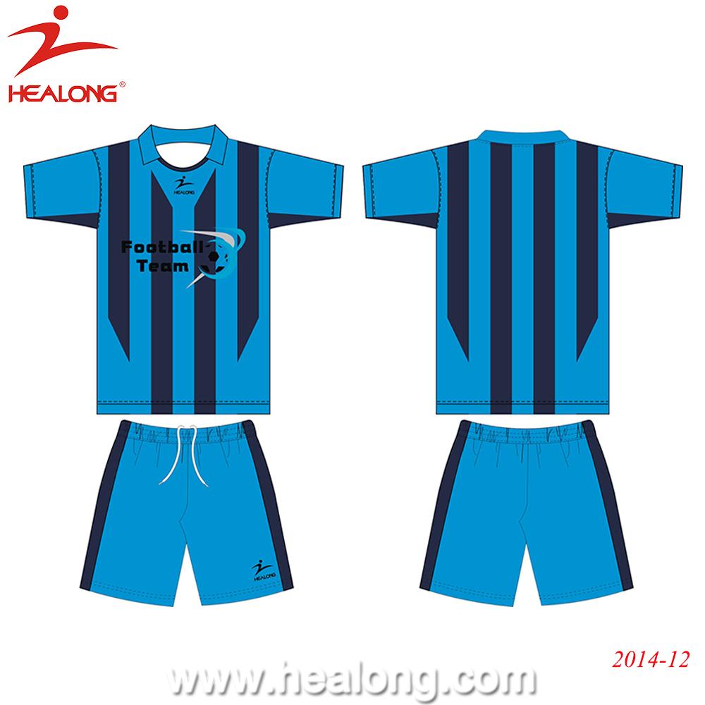 Custom Soccer Uniform Sublimation Football Shirt Maker Soccer Jersey