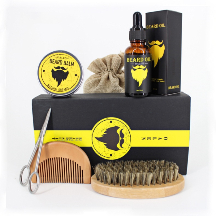 OEM Beard Oil Gift Set With Comb for Groomed Beard Growth, Mustache - 585077