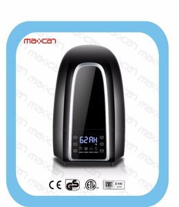 Digital humidifier with ionizer