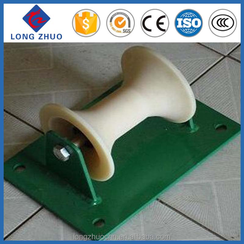 straight line cable pulley wheel, steel cable pulley, steel cable roller