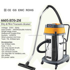 Hot selling double motors big vacuum cleaner water and dust