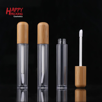 Hot Sale Cosmetics Container Lip Gloss Private Label Custom Empty Plastic Lipgloss Tubes With Brush